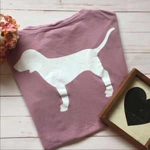 Sale! VS PINK doggy tee